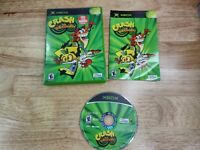 Crash Twinsanity (Microsoft Xbox, 2004) Complete with manual Disc VG Condition