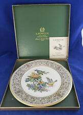 "Boehm Lenox 1971 Goldfinch Bird 10 1/2"" Ltd Ed Plate in original box"