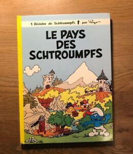 Le Pays des Schtroumpfs - Album TRES RARE