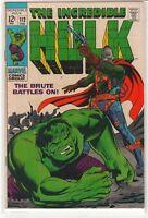 Incredible Hulk #112 8.0