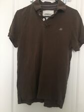 AEROPOSTALE Adult Polo Shirt Top Lot Of 2 Sz M Brown & Gray Clothes