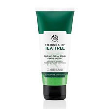 The Body Shop Tea Tree Squeaky-Clean Scrub NEW (Suitable for Blemished Skin)