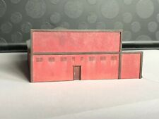 N scale Laser cut truck repair shop