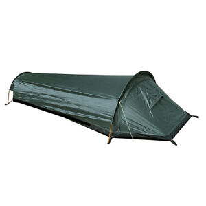 Anti- Camping Tent 1 Person Sleep Bag Outdoor Backpacking Beach Shelter