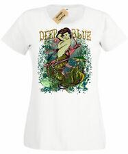 Mermaid Womens T-Shirt deep blue sea Ladies top