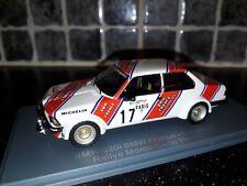 BMW 320i Group 2 Timo Makinen Rallye Monte Carlo 1980 1/43rd Neo rare WRC model