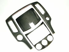 Nissan 370Z Echt Carbon Mittelkonsole Radio Abdeckung Cover 370 Z Center console