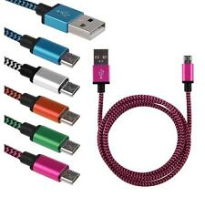 Braided Aluminum Micro USB Data&Sync Charger Cable For IPhone5 5S SE 4.7 6s plus