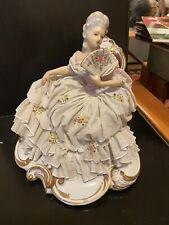 Statua Dama In Porcellana  CAPODIMONTE?