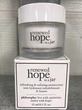 Philosophy Renewed Hope in a Jar  .5oz Mini BRAND NEW!! (no Box) Bargain Price!