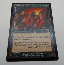 Magic The Gathering Nemesis Lot of 2 Kor Haven Land Rare Cards Unplayed MG1010