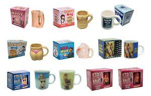 Mugs (Torso Mug, Willy Mug, Boob Mug, Bum Mug, Strip Mugs or Man Flu Mug)