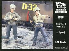 Verlinden Productions 1:35 Right There US Marine - Two Resin Figures #1938
