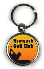 Personalised Keyring Metal Custom Photo Printed golf ball marker