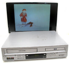 ORION Dual Deck DVD Player VCR VHS VIDEO CASSETTE Recorder Combo DVC5000 Silver