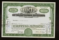 New England Telephone & Telegraph NY ( now National Bell )iss to Heddy Oser 1959