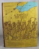 A History of Ohio by Eugene H. Roseboom & Francis P. Weisenburger (HC/DJ)