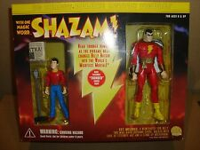DC DIRECT DELUXE ACTION FIGURES SET SHAZAM! AND BILLY BATSON 2000