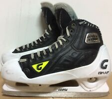 Graf Ultra G50 Mens Pro Stock Hockey Goalie Skates Size 11 D 5848