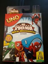#273 New Marvel Uno Ultimate Spiderman Web-Warriors Card Game 2-10 Players