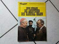 Heinz Rühmann-Die Abenteuer des Kardinal Braun -Pressemappe