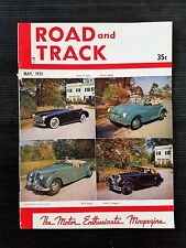 Road & Track May 1951 -  Jaguar XK-120 - Studebaker V-8 - Phil Hill - Mercedes