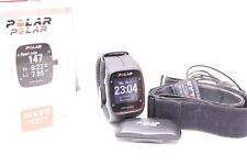 POLAR M400 Schwarz Brustgurt, H7 Schrittzähler, GPS Lauf-/ Sport Pulsuhr Black