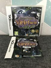 Nintendo DS Princess Isabella Witch's Curse hidden obj puzzle adventure witches