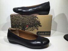 Cobb Hill Revchi Womens Size 9 W Black Slip On Ballet Flats Shoes X-215