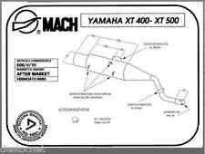 POT D'ECHAPPEMENT MACH YAMAHA XT 500 1U6 ILK , 1977 - 1980