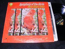 Strange SYMPHONY OF THE BIRDS LP Johan Dalgas FRISCH Birdsong of BRAZIL Concrete