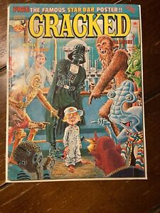 Cracked Magazine #148 Star Wars January 1978 Star Bar Poster Pre Owned