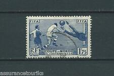 COUPE MONDIALE DE FOOTBALL - 1938 YT 396