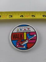 Vintage JDRF Walk To Cure pin button pinback *EE76
