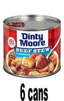 Dinty Moore Beef Stew 6 pack 20 oz Each  expire 2023