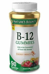Nature's Bounty Nature's Vitamin 500mcg Gummies Fruit 90 Count (Pack of 1)