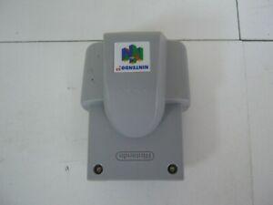 NINTENDO N64 PAL GREY RUMBLE PAK