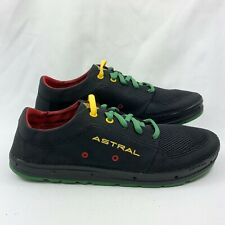 Astral Men's Brewer Lightweight Water Boat Sneaker Shoes Rasta/Black Size 13