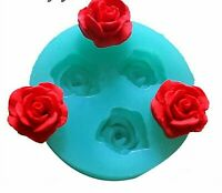 Decorating Tools Flowers Chocolate Wedding Cake 3D Baking Fondant Silicone Mold