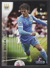 Topps Premier Gold 2015 - Base # 65 David Silva - Manchester City