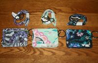 Vera Bradley BREAKAWAY LANYARD & ICONIC CAMPUS DOUBLE ID CASE badge holder