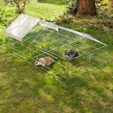 Best Outdoor Rabbit Run Cage Sun Protection Rabbits Guinea Pigs Chickens Ducks