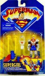 Supergirl Action Figure Hasbro Kenner 1998 Animated Superman Amricons