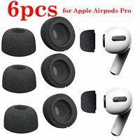 6PCS Memory Foam Earphone Tips Buds Cover pour Airpods Pro écouteurs