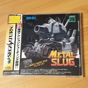 Metal Slug Sega Saturn SS Japan NTSC-J Jap Very Rare SNK shooter