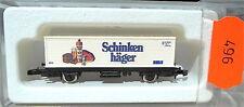 Schinkenhaeger Vagone Per Container Kolls 90002 Märklin 8615 Scala Z 1/220 496 #