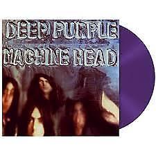 DEEP PURPLE Machine Head Ltd Edition Purple Vinyl Lp Record 180gm NEW Sealed
