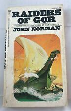 Raiders of Gor by John Norman 1973, Paperback Vintage Fantasy