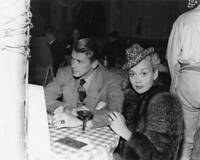 American Actors Ronald Reagan And Jane Wyman Attend A Party At The OLD PHOTO