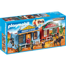 Playmobil Western Take Along Western City Playset 70012